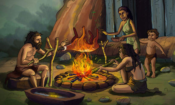 paleolithic age fire - photo #15