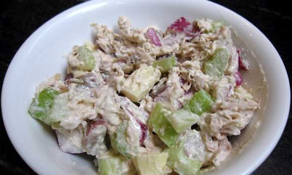 paleo approved classic chicken salad