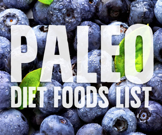 Paleo Diet Foods List- what you can and canno't eat while on the Paleo Diet.