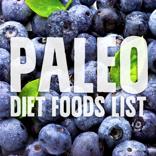 Foods You Can Eat On The Paleo Diet Paleo Grubs