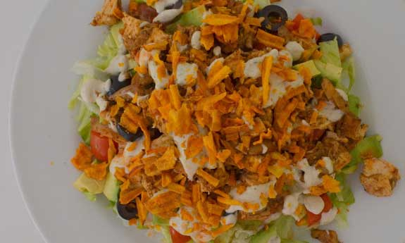 paleo ranch taco salad