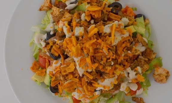 paleo ranch taco salad