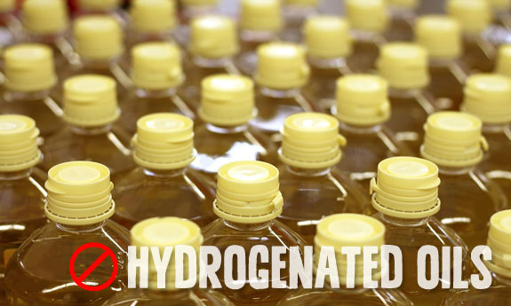 partially hydrogenated oils