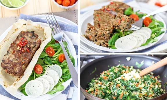 vegetable overload meatloaf