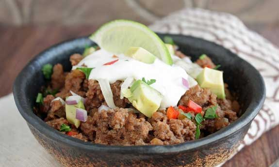 10 minute low carb chili