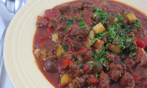 big game vegetable chili