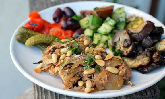 chicken musakhan