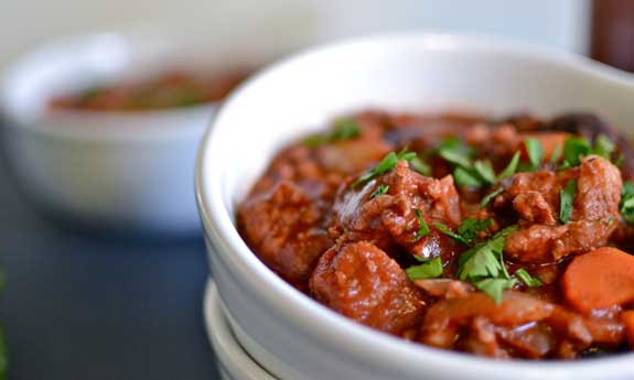 chipotle cherry pork chili