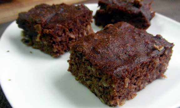 sauerkraut brownies
