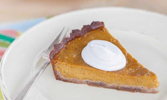 grain free pumpkin pie