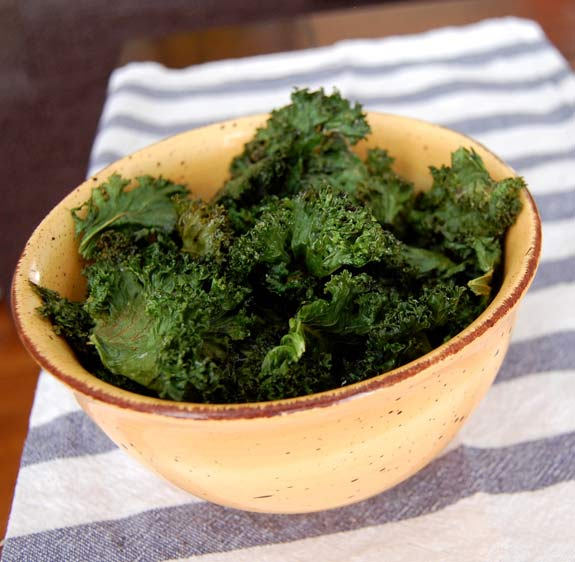 How to Make Quick & Easy Kale Chips- that are delicious and healthy.