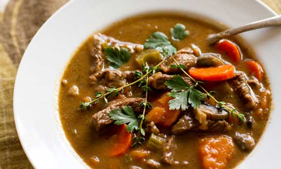 love hearty beef stew