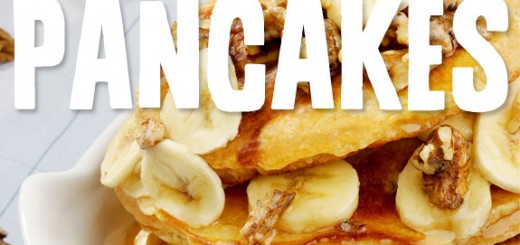 17 Banana Pancakes- the most delicious banana pancake recipes with no grain, no white sugar & no dairy.