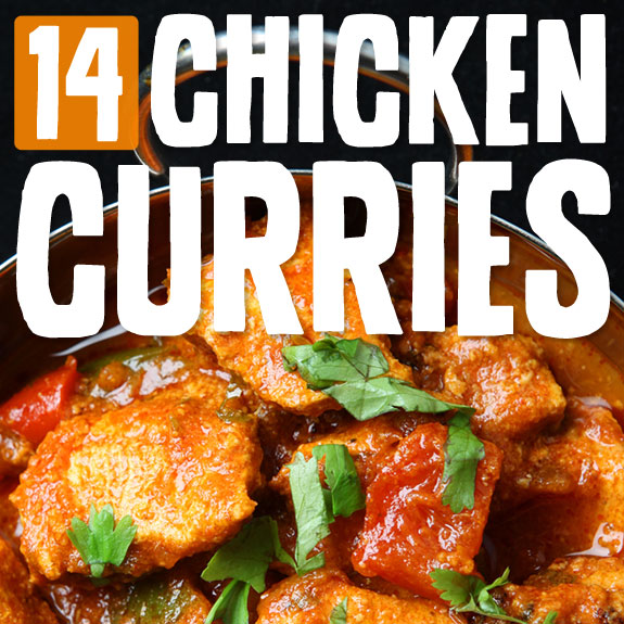 14 Spicy & Flavorful Chicken Curries- reminds me of my time abroad in India :)