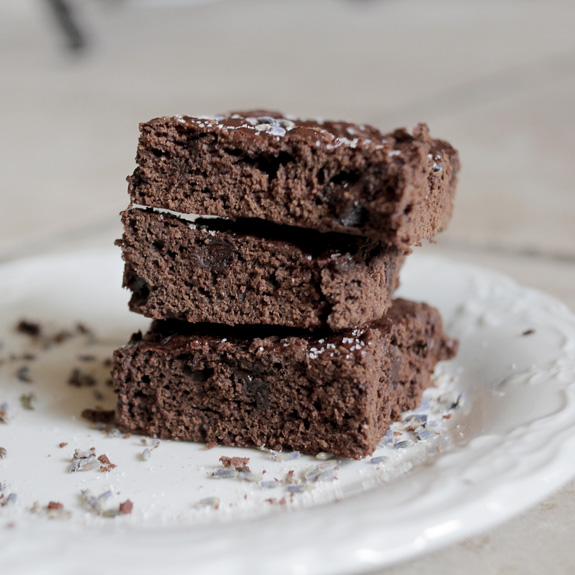 Lavender Maca Brownies- you need to try these!
