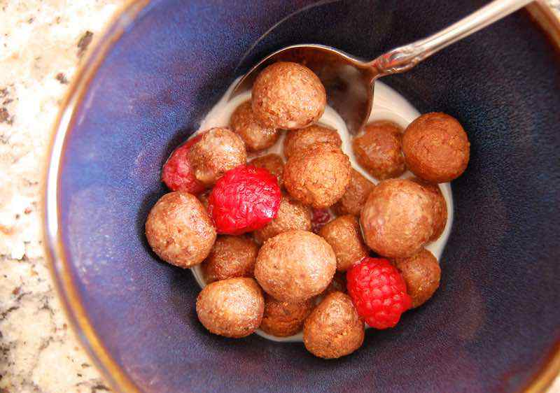 Chocolate Paleo Cereal Puffs