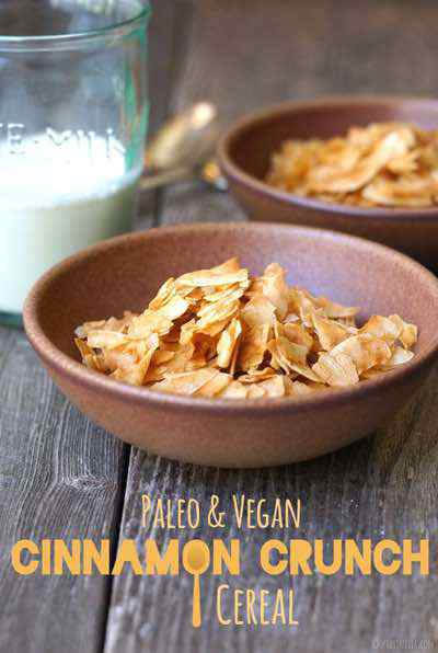 Paleo Cinnamon Crunch Cereal