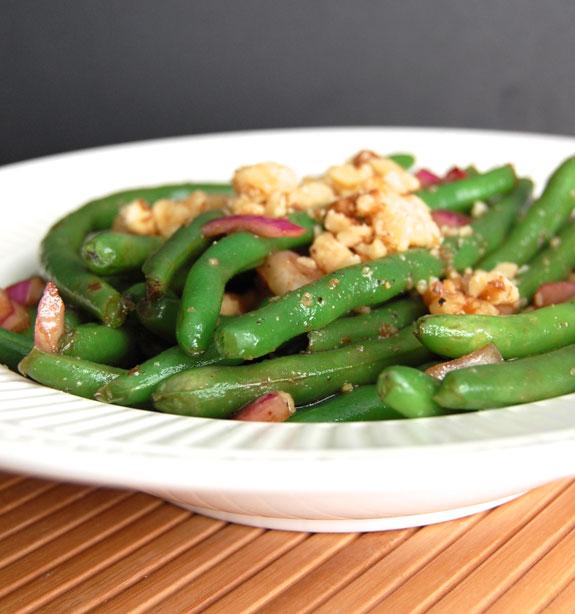 Balsamic Green Bean Salad Recipe