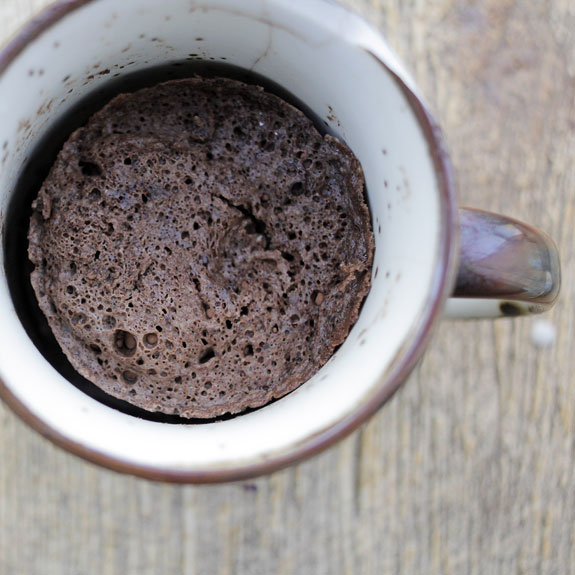 How to Make Chocolate Mug Cake- serve with your favorite topping and enjoy :)