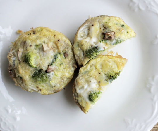 Healthy Egg Breakfast Muffins- a tasty & healthy way to start the day! Will