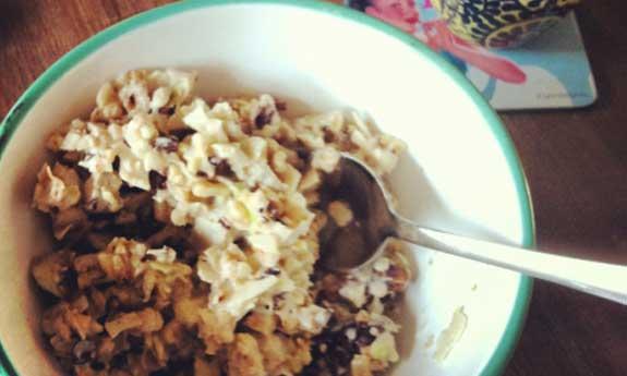 paleo walnut breakfast cereal
