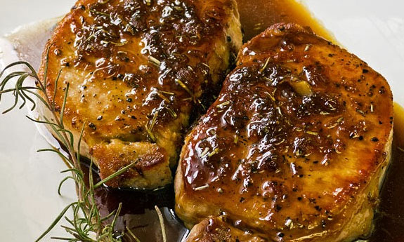 pork chops with rosemary