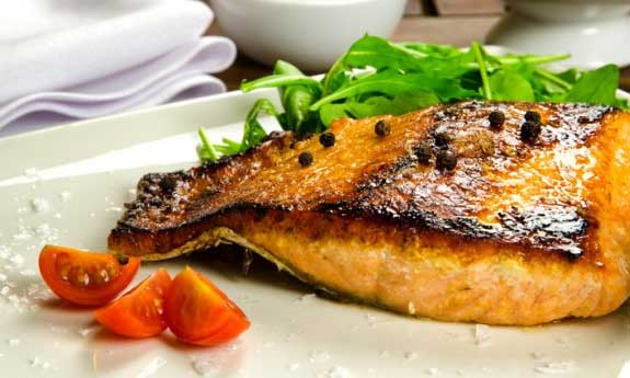 maple salmon fillets