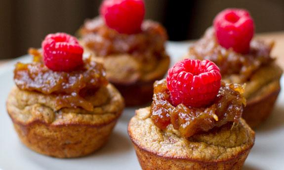 paleo sticky date cupcakes