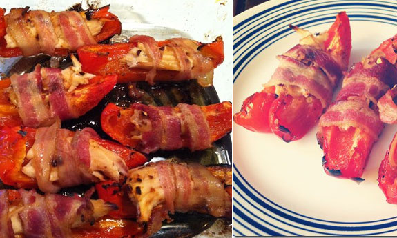 red pepper poppers
