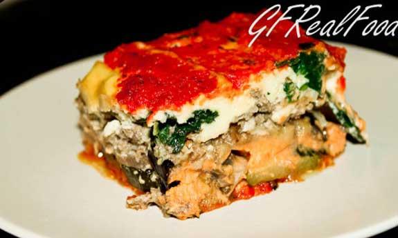 9 layer paleo lasagna