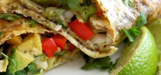 Healthy Breakfast Burritos- these are delicious! They are low carb and packed with veggies.