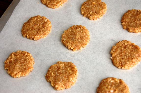 no bake walnut cookies