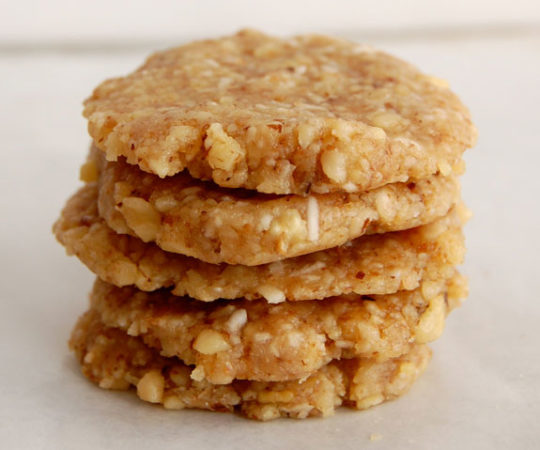 No-Bake Walnut Cookies- these are super easy and so good!