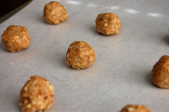 walnut cookie dough