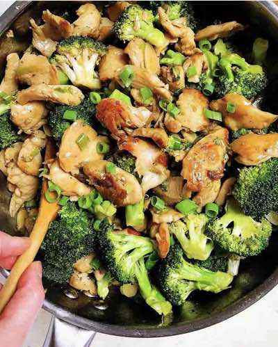Paleo Chicken and Broccoli Stir-Fry