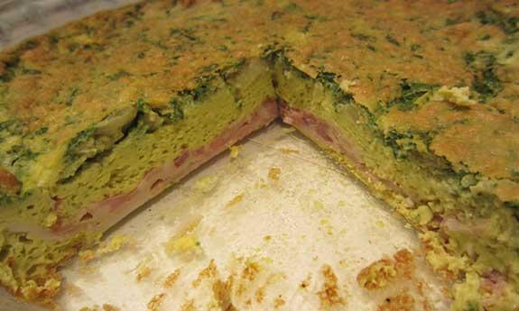 bacon crusted quiche