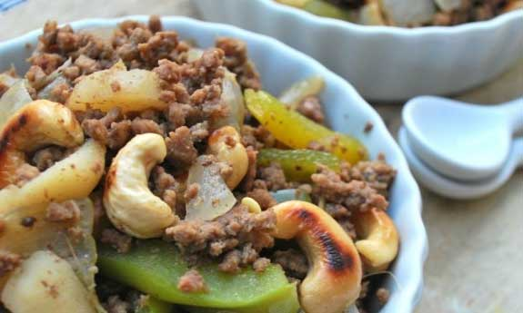 cashew beef stir fry