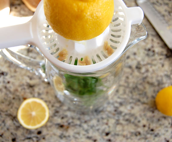 juicing the lemons