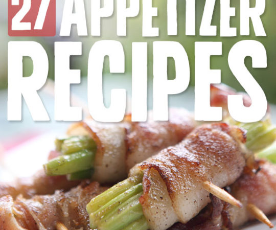So many awesome appetizers, so little time…