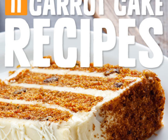 11 Crave-Worthy Carrot Cake Recipes- now if I could just figure out how to make and eat all of these at once...