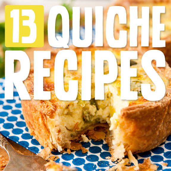 I have tried most of these quiche recipes and they were all super tasty! My favorite… the bacon-crusted quiche :)
