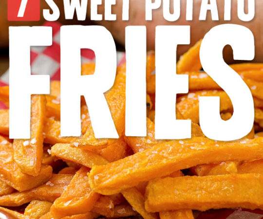 These are my go-to recipes for sweet potato fries…
