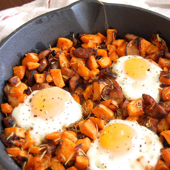 love me some sweet potato hash in the morning! This is my favorite ...