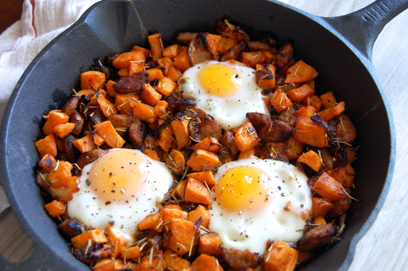 Breakfast Sweet Potato Hash - Just Paleo Food