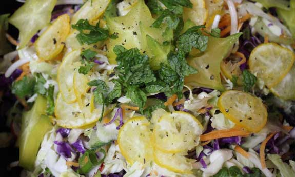 crunchy tangy cabbage slaw recipe