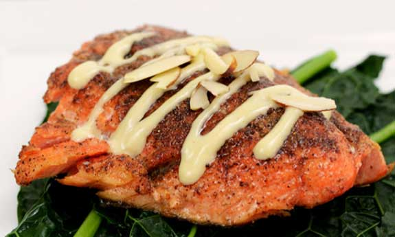 five spiced salmon