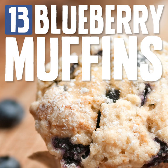 I could eat these blueberry muffins for breakfast, lunch and dinner. You need to try these!