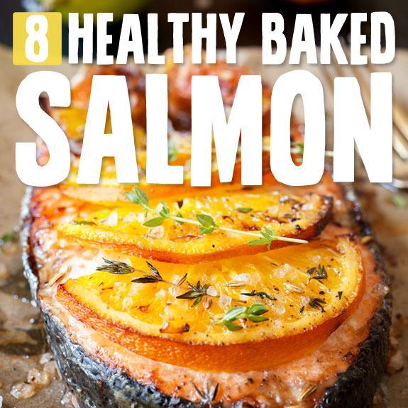 8 Healthy Baked Salmon Recipes- these salmon recipes are easy to make and very good for you.