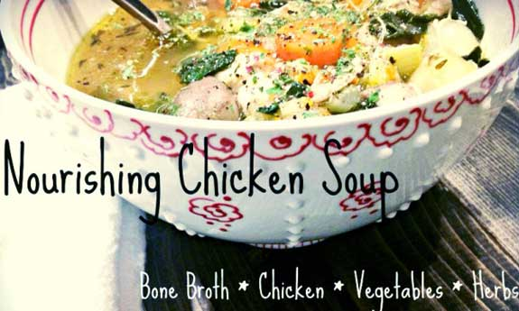 nourishing chicken soup recipe