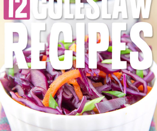 Try one of these unique and healthier homemade coleslaw recipes…